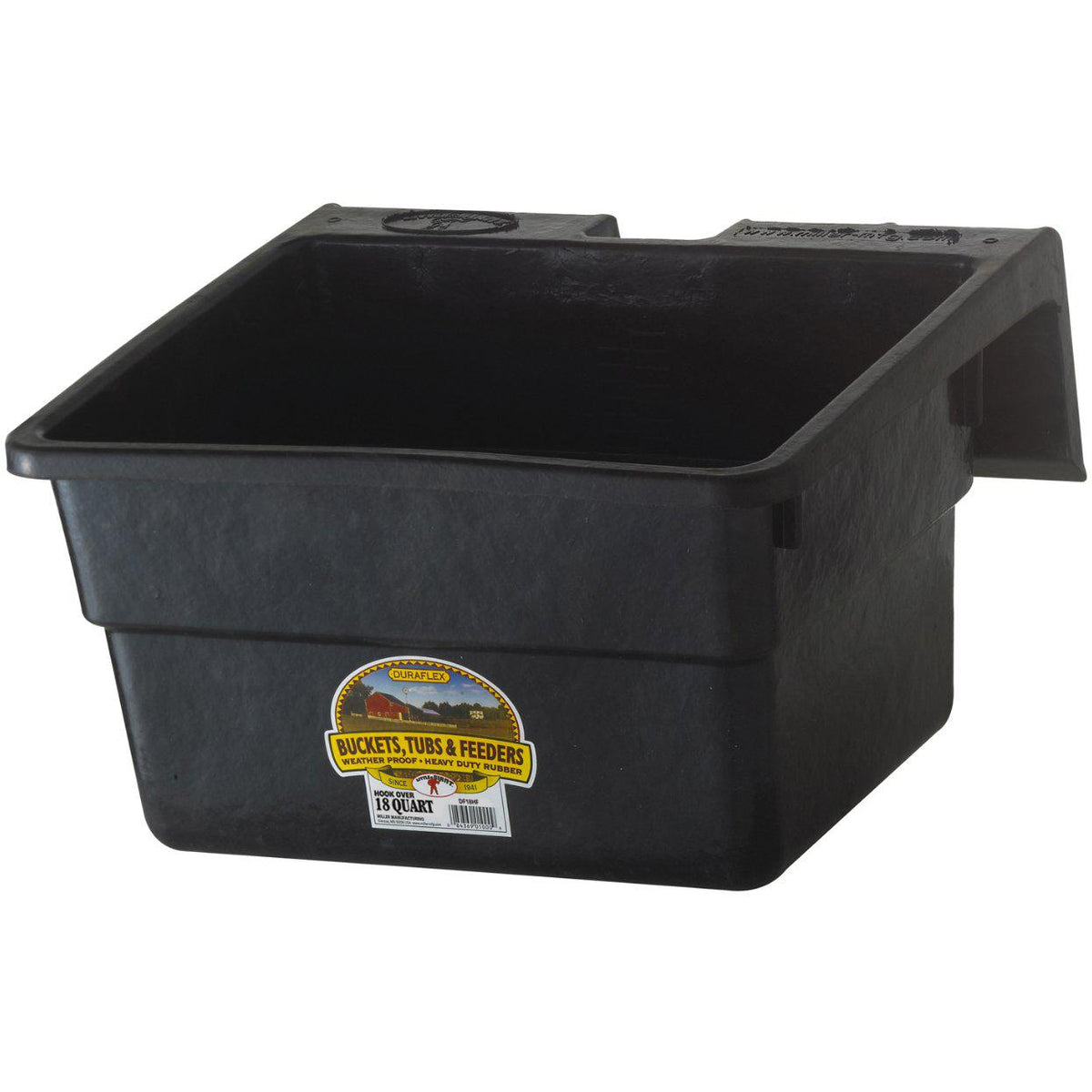Little Giant® 18 Quart Rubber Hook Over Feeder - Critter Country Supply Ltd.