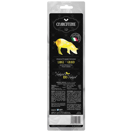 Dogit® CHARCUTERIE Prosciutto Bone for Dogs - Critter Country Supply Ltd.
