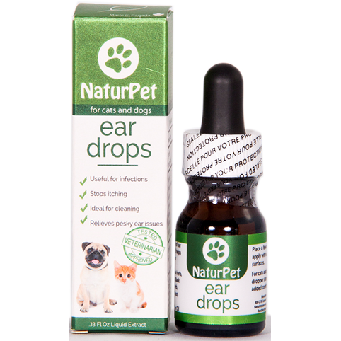 NaturPet Ear Drops 10ml - Critter Country Supply Ltd.