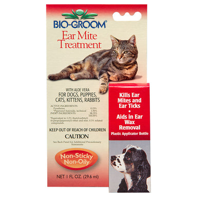 Bio-Groom® Ear Mite Treatment 29mL - Critter Country Supply Ltd.