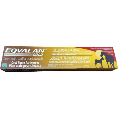Eqvalan® Gold (ivermectin and praziquantel) Oral Paste for Horses - Critter Country Supply Ltd.