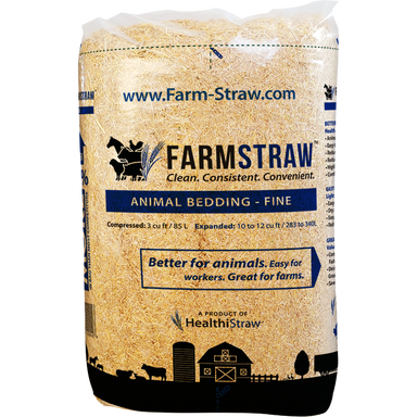 FarmStraw, FINE Shread 3 cu ft Bag - Critter Country Supply Ltd.