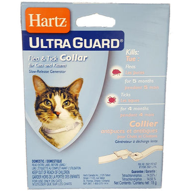 Hartz® UltraGuard® Flea and Tick Collar for Cats and Kittens - Critter Country Supply Ltd.
