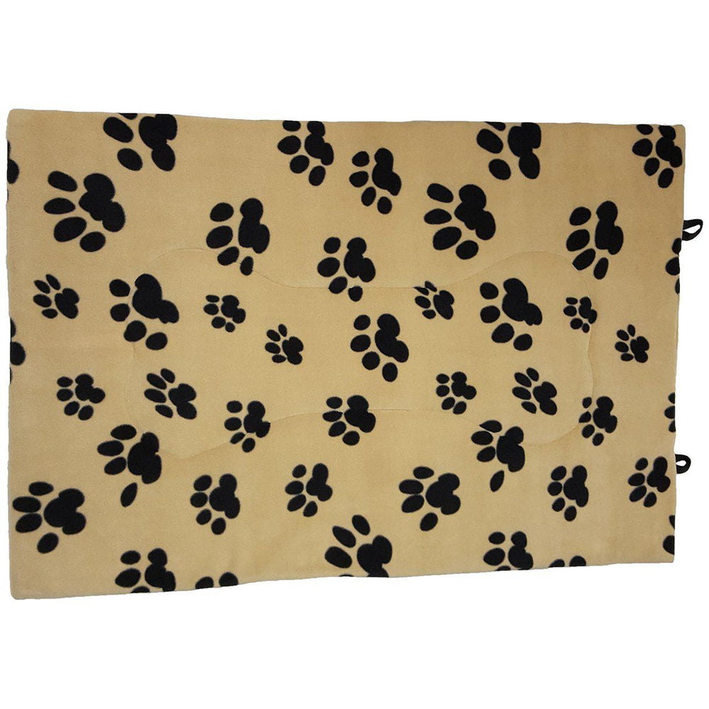 "Unleashed ""Paw Print"" Flop Flat Mat - Critter Country Supply Ltd."