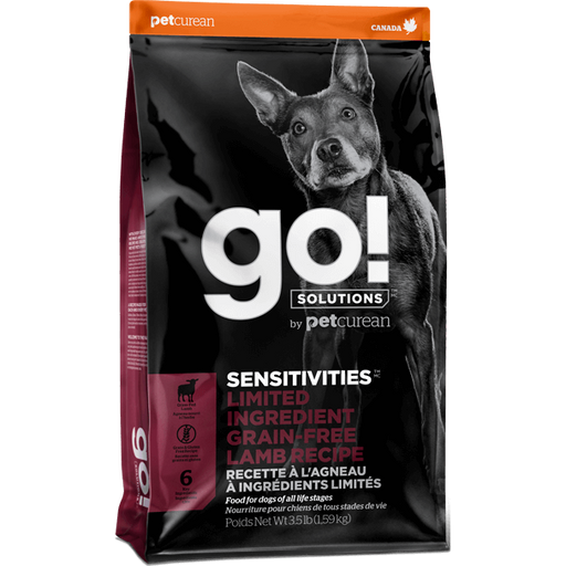 Go! Solutions™ SENSITIVITIES™ Limited Ingredient GRAIN-FREE Lamb Recipe - Critter Country Supply Ltd.