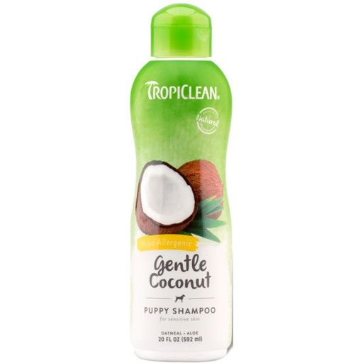 TropiClean® Gentle Coconut (Hypo Allergenic) Dog & Cat Shampoo 592ml - Critter Country Supply Ltd.