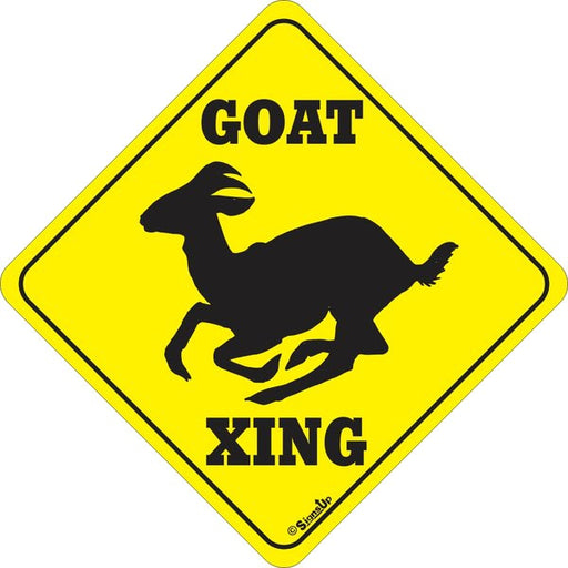 Xing Sign - Goat - Critter Country Supply Ltd.