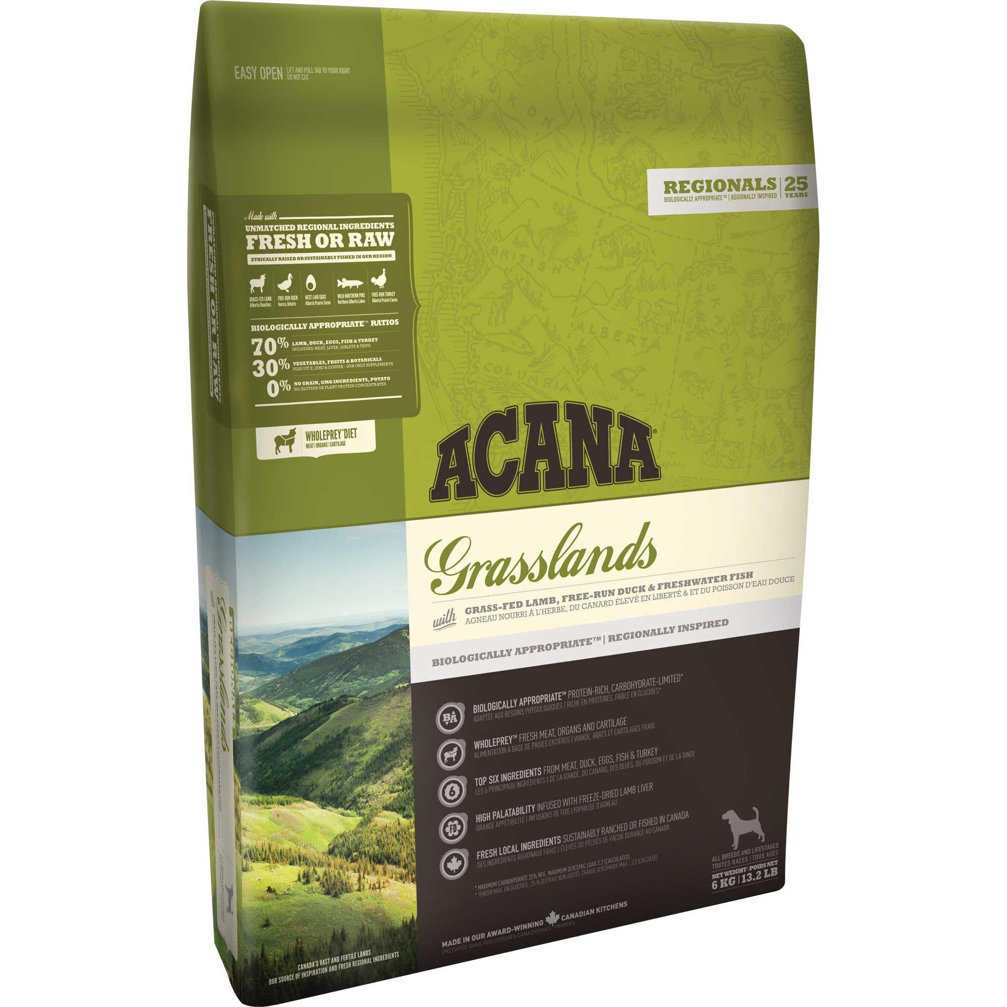 ACANA® REGIONALS Grasslands - Critter Country Supply Ltd.