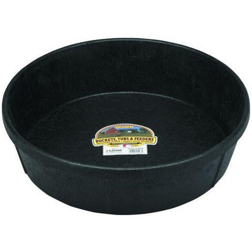 Little Giant® 3 Gallon Rubber Feed Pan - Critter Country Supply Ltd.