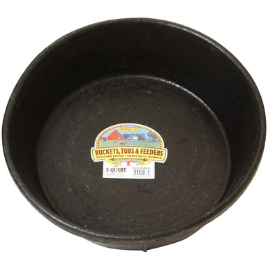 Little Giant® 2 Gallon Rubber Feed Pan - Critter Country Supply Ltd.