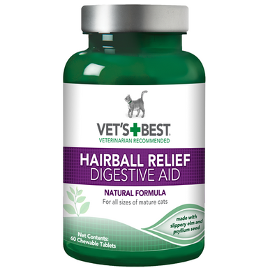 Vet's Best® Hairball Relief, 60 Tablets - Critter Country Supply Ltd.
