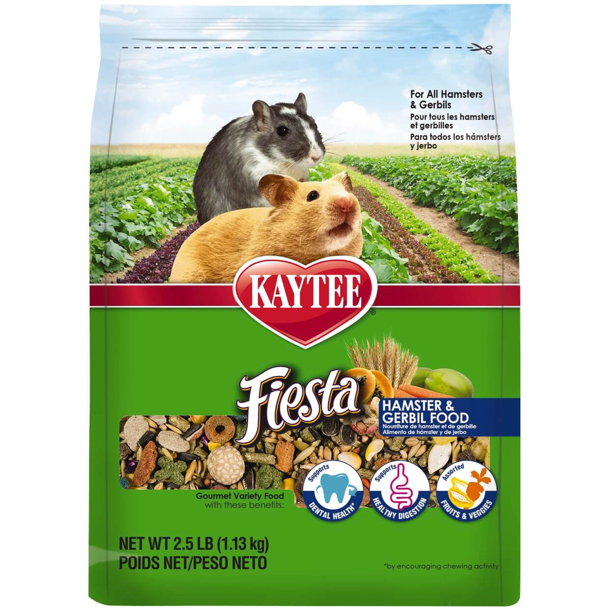 Kaytee® Fiesta® Hamster and Gerbil Food - Critter Country Supply Ltd.