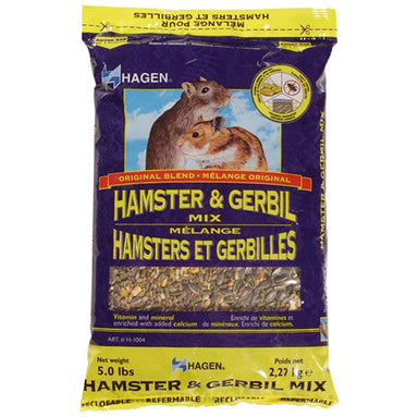 Hagen® Original Blend Hamster & Gerbil Mix 2.27 kg (5 lb) - Critter Country Supply Ltd.