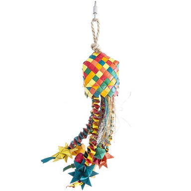 HARI® Rustic Treasures Bird Toy Star Basket - Critter Country Supply Ltd.