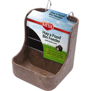 Kaytee® Hay & Food Bin Feeder - Critter Country Supply Ltd.