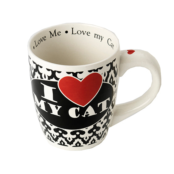 PetRageous Designs® I Love My Cat Jumbo Mug, 28 oz - Critter Country Supply Ltd.