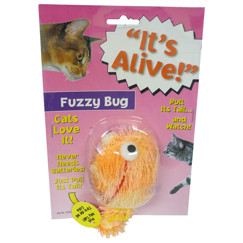 """It's Alive!"" Vibrating Cat Toy - Critter Country Supply Ltd."