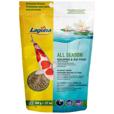Laguna® All Season Goldfish & Koi Food 17oz - Critter Country Supply Ltd.