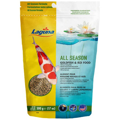 Laguna® All Season Goldfish & Koi Food 17oz