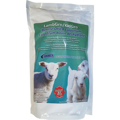 Grober® LambGro/KidGro™ Bovine Dried Colostrum 700 g - Critter Country Supply Ltd.