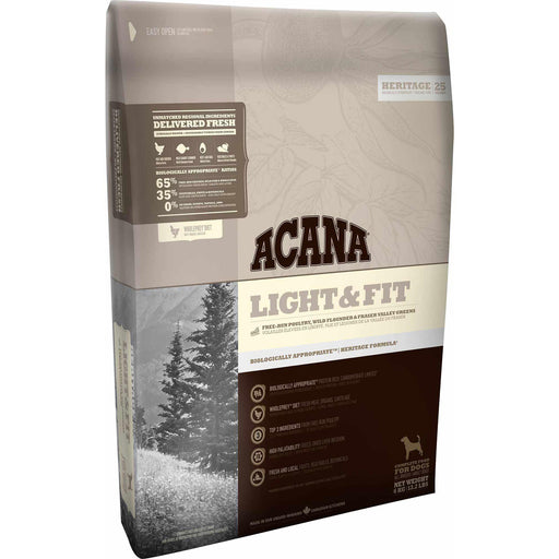 ACANA® HERITAGE Light & Fit - Critter Country Supply Ltd.