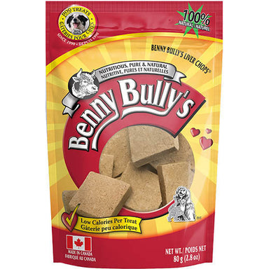 Benny Bully's Liver Chops® - Critter Country Supply Ltd.