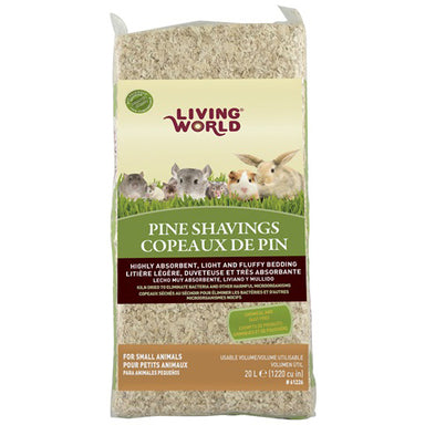Living World® Pine Shavings - Critter Country Supply Ltd.