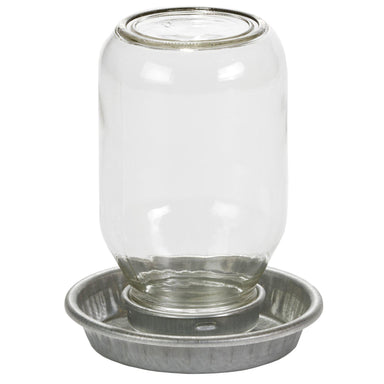 Little Giant® 1 Quart Metal Poultry Waterer Base - Critter Country Supply Ltd.