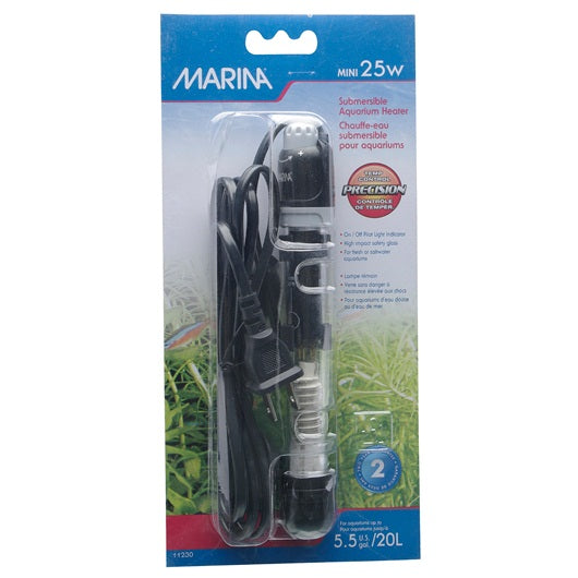 Marina® Mini Submersible Aquarium Heater - Critter Country Supply Ltd.