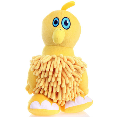 Go Dog® Mopz™ Yellow Bird Dog Toy - Critter Country Supply Ltd.