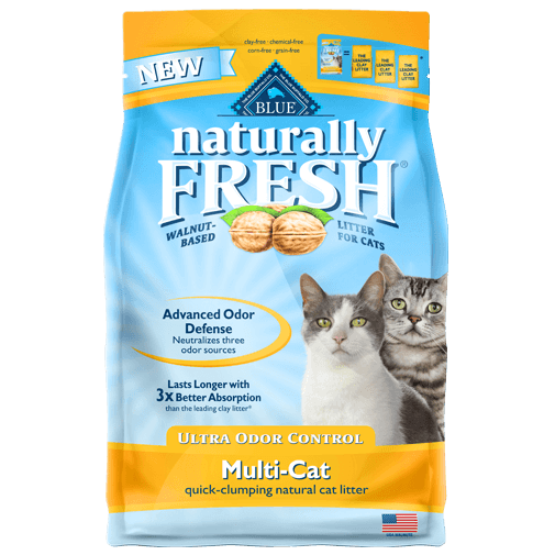 BLUE™ Naturally FRESH® Ultra Odor Control Multi-Cat Quick-Clumping Cat Litter 26lb Bag
