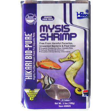 Hikari® Bio-Pure® Frozen Mysis Shrimp 3.5oz - Critter Country Supply Ltd.