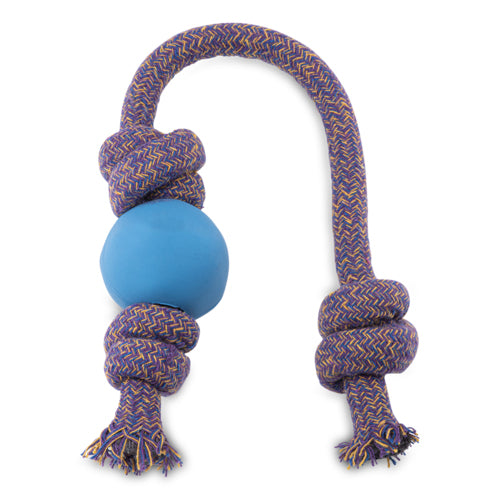 Beco Natural Rubber Ball on Rope