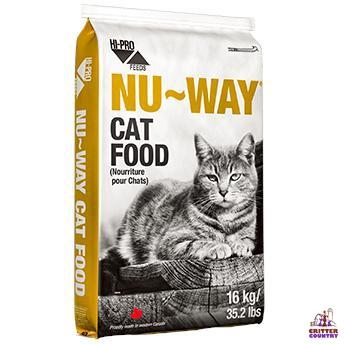 HI-PRO FEEDS® NU-WAY Cat Food 16 KG - Critter Country Supply Ltd.