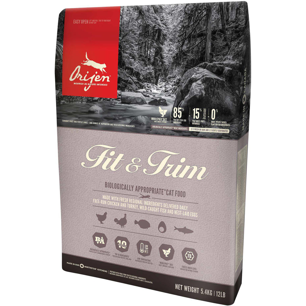 Orijen® FIT & TRIM Biologically Appropriate™ Cat Food - Critter Country Supply Ltd.