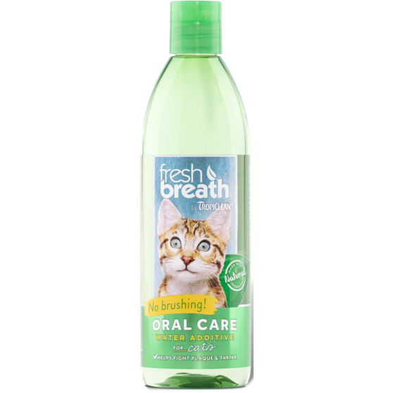 TropiClean® Fresh Breath® Oral Care Water Additive for Cats 473ml
