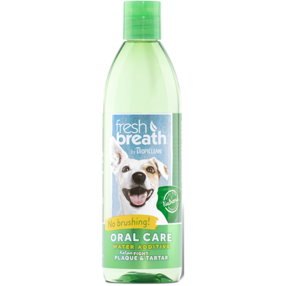 TropiClean® Fresh Breath® Oral Care Water Additive for Dogs 473ml