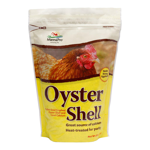 Manna Pro® Oyster Shell 5lb (2.27kg) - Critter Country Supply Ltd.
