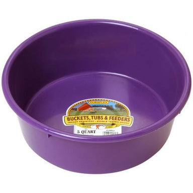 Little Giant® 5 Quart Plastic Utility Pan - Critter Country Supply Ltd.