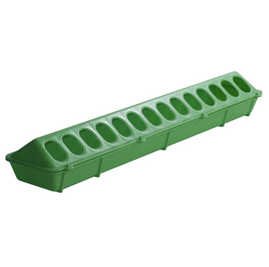 "Little Giant® 20"" Plastic Flip-Top Poultry Feeder - Critter Country Supply Ltd."