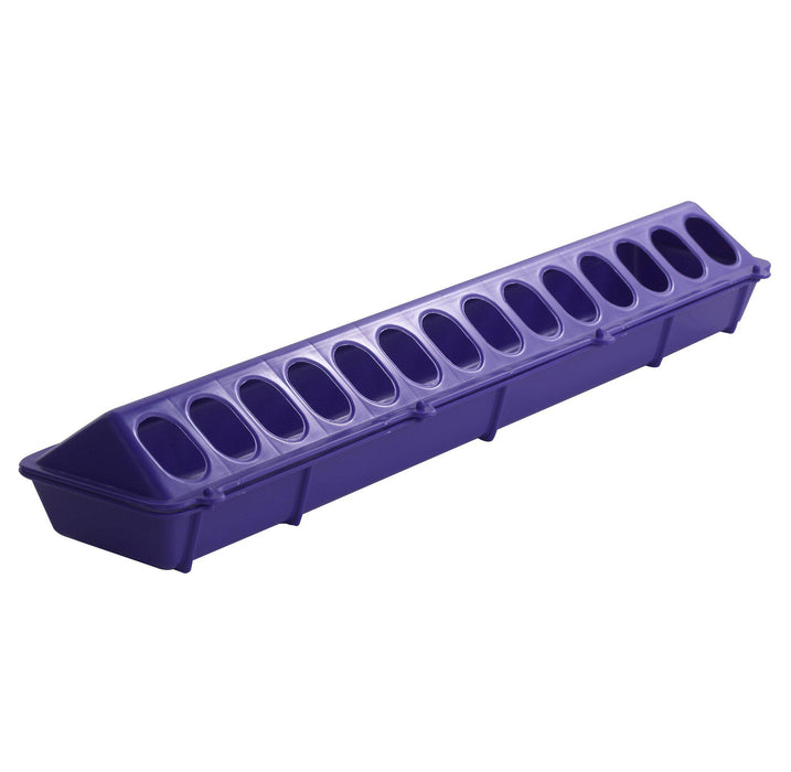 "Little Giant® 20"" Plastic Flip-Top Poultry Feeder"
