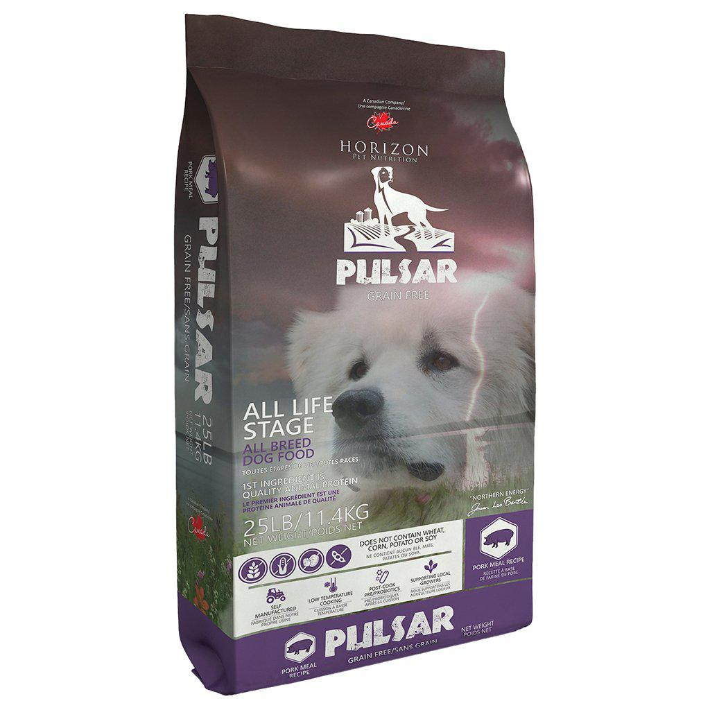 Horizon Pulsar Dog Food - Pulses & Pork GRAIN FREE Formula - Critter Country Supply Ltd.