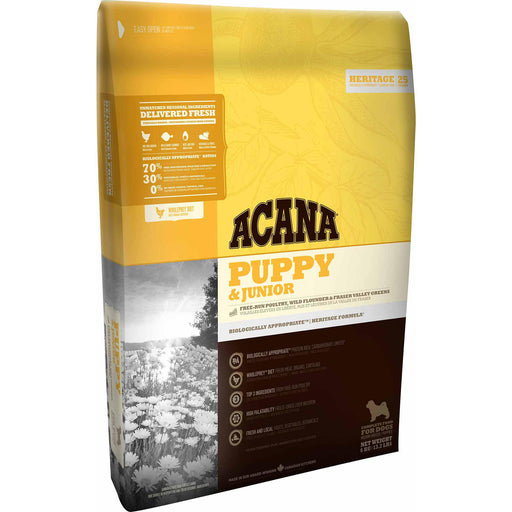 ACANA® HERITAGE Puppy & Junior - Critter Country Supply Ltd.