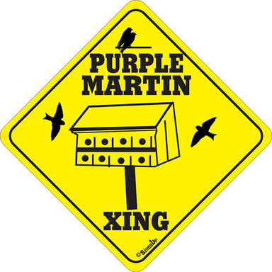 Xing Sign - Purple Martin - Critter Country Supply Ltd.