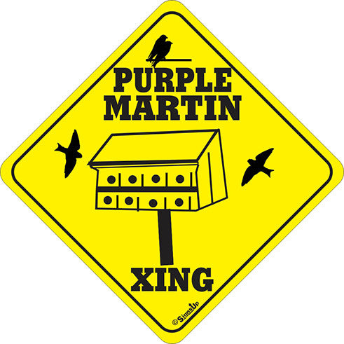 Xing Sign - Purple Martin