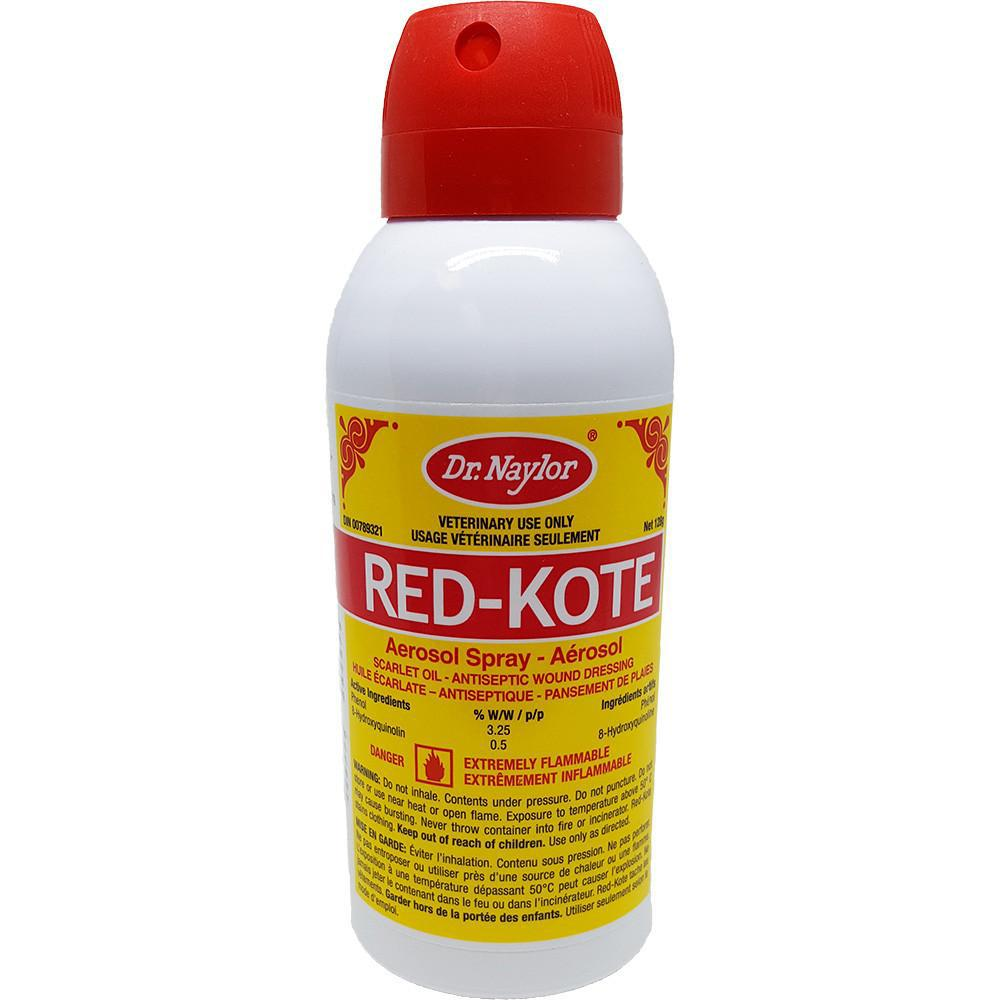Dr. Naylor® RED-KOTE® Aerosol Spray 128g - Critter Country Supply Ltd.