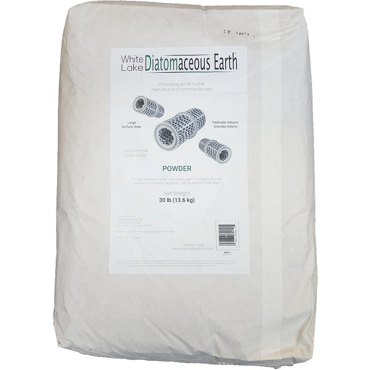 White Lake Diatomaceous Earth™ (Food Grade) 13.6 KG Bag - Critter Country Supply Ltd.