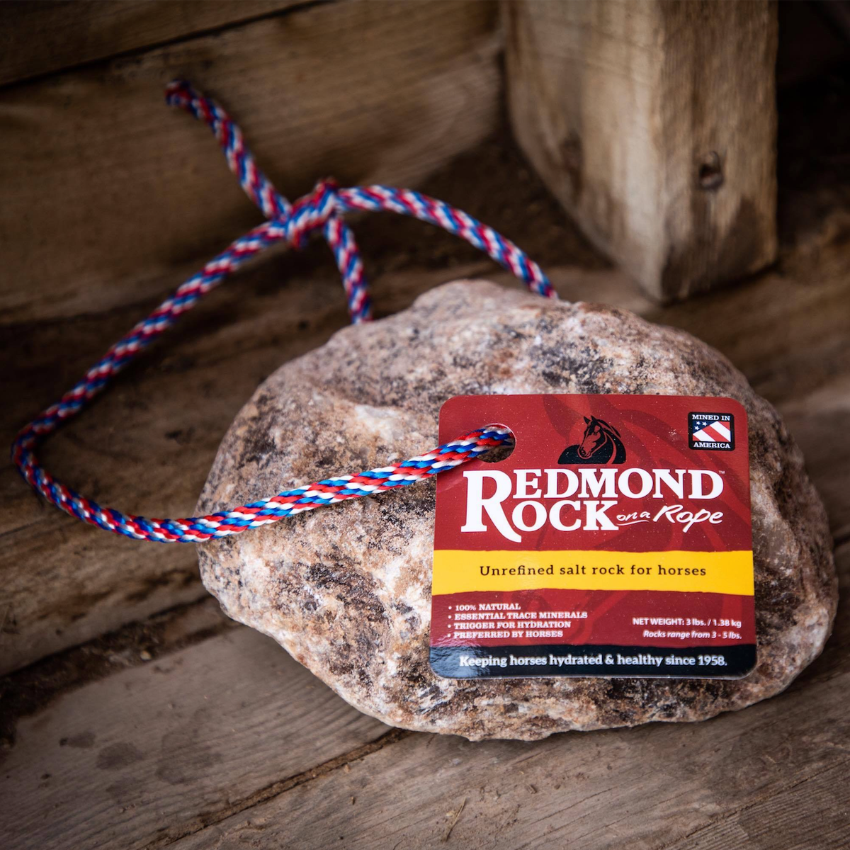 Redmond Rock® on a Rope 3LB