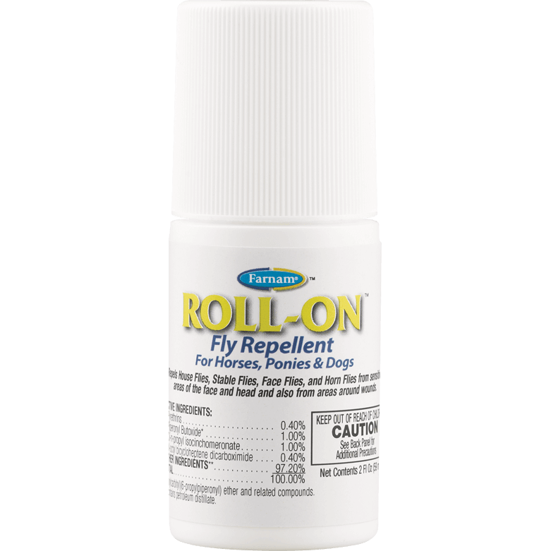 Farnam® ROLL-ON™ Fly Repellent & Insecticide 59ml - Critter Country Supply Ltd.