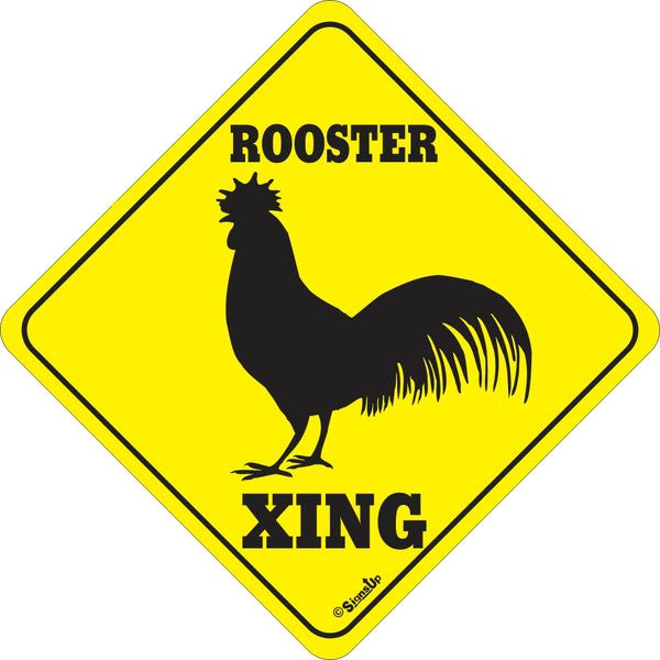 Xing Sign - Rooster
